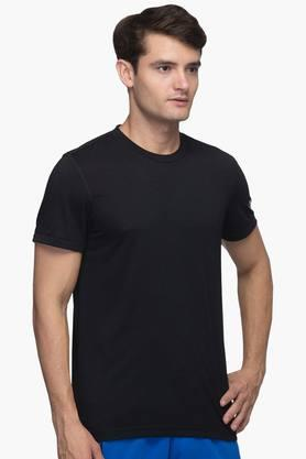 ADIDAS Mens Round Neck Solid T-Shirt - 201142764