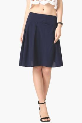 MARIE CLAIRE Womens Solid Skirt