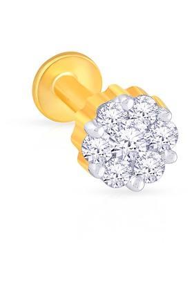 MALABAR GOLD AND DIAMONDSWomens Diamond Nosepin UINSP00047