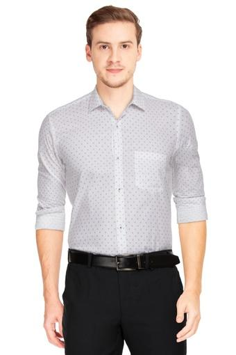 VAN HEUSEN -  Light Grey Formal Shirts - Main