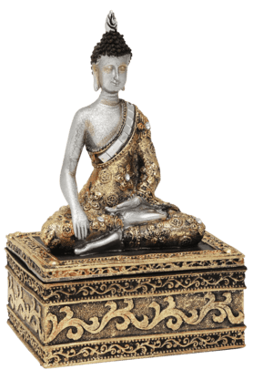 ADARA Buddha With Jewelry Box