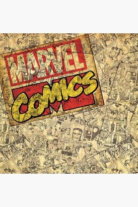 Marvel Comics Reversible Polyester Green Cushion Cover Set of 1