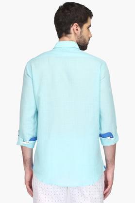 Mens Sports Slim Fit Check Shirt