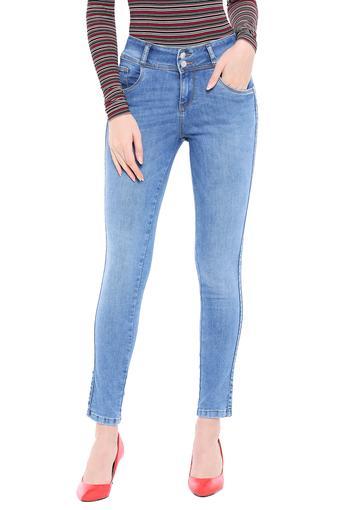 KRAUS -  Light BlueJeans & Leggings - Main