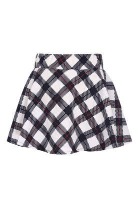 Girls Checked Skirt