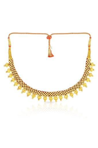 9af9e9a456565 Womens Gold Necklace NNKTH017