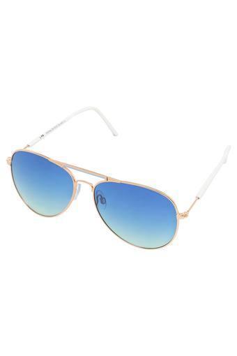 Unisex Aviator UV Protected Sunglasses - LI142C48