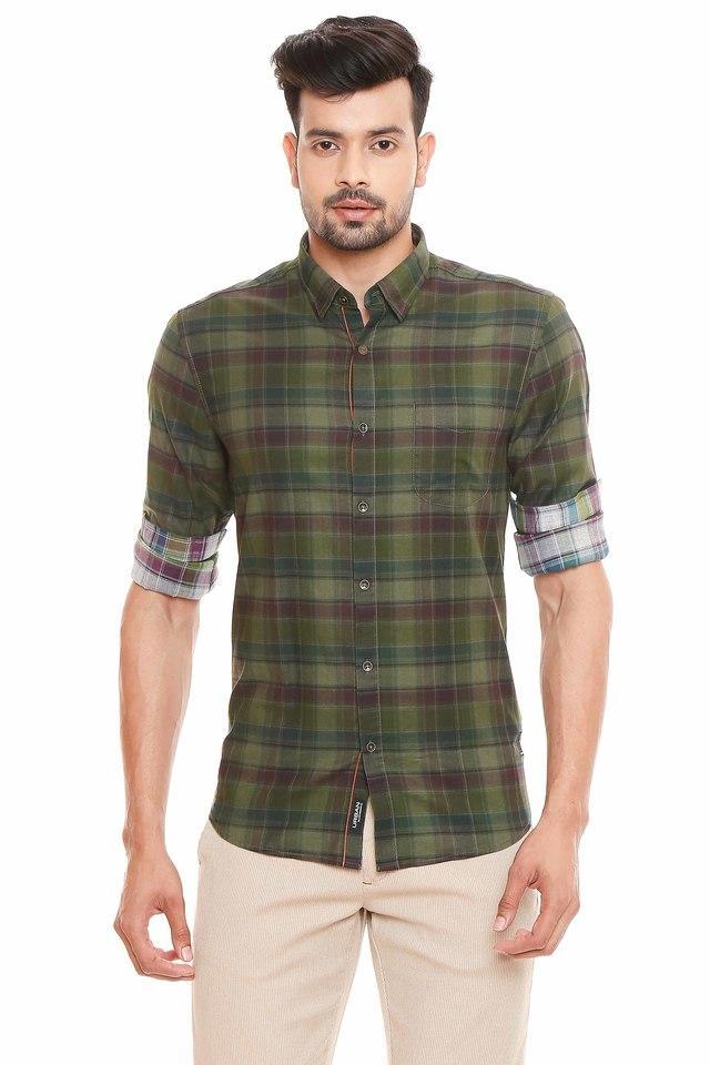 BLACKBERRYS - GreenCasual Shirts - Main