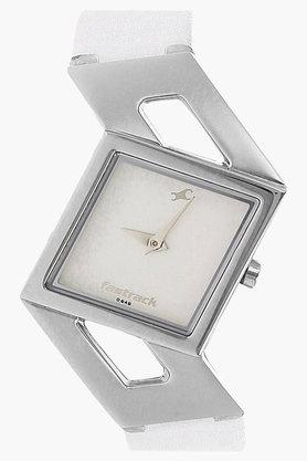 FASTRACK Womens Silver-White Dial Analogue Watch