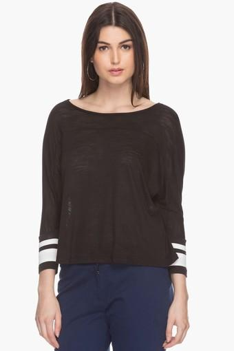 Womens Boat Neck Top