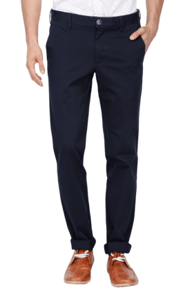 LOUIS PHILIPPE SPORTS Mens Mid Rise Chinos