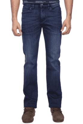CELIOMens 5 Pocket Slim Fit Stretch Jeans