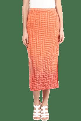 109FWomens Printed Skirt
