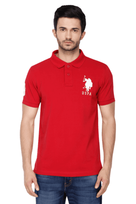 Buy U.S. POLO ASSN. Mens Polo T-shirt Online | Shoppers Stop