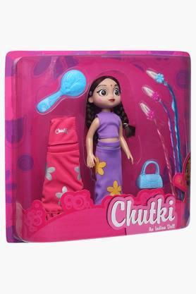 Chutki Doll Set with Hair Extension