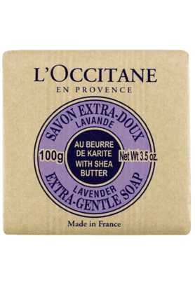 L'OCCITANE Shea Butter Extra Gentle Soap - Lavender - 100 Ml