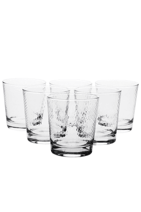 PASABACHE Peter Whiskey Glass Set (Set Of 6)