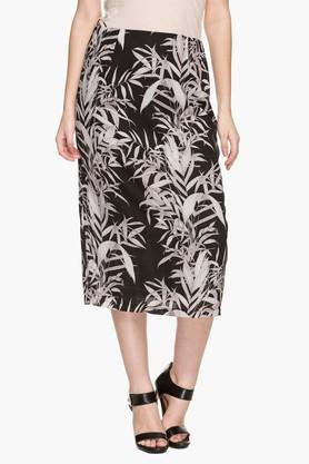 STOP Womens Printed Straight Skirt