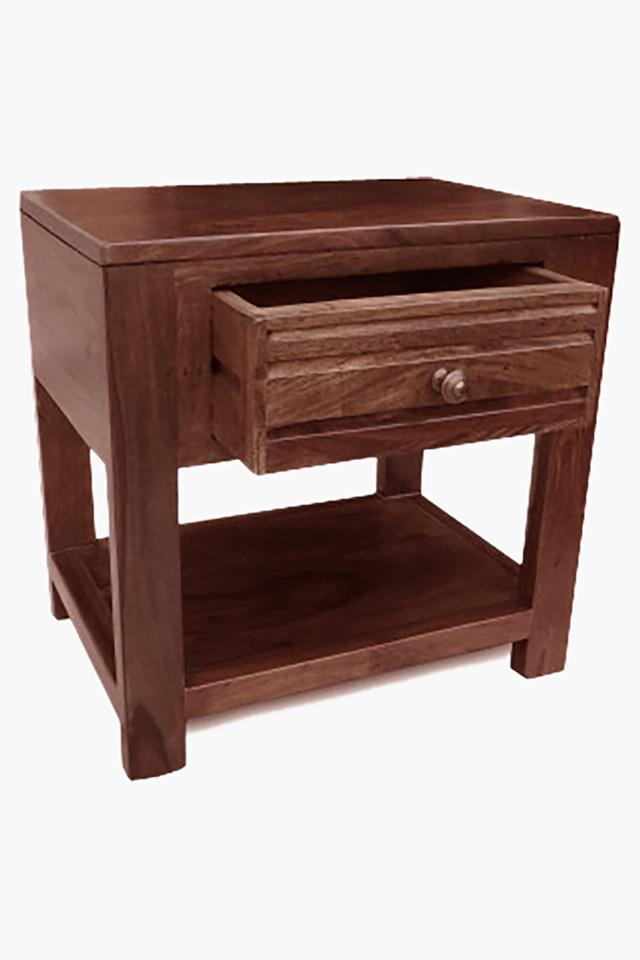 Teak Bed Side Table