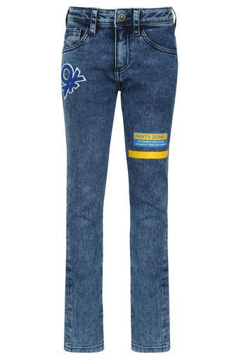 UNITED COLORS OF BENETTON -  Dark BlueBottomwear - Main