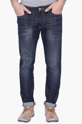 Rare Rabbit Jeans (Men's) - Mens 5 Pocket Mild Wash Jeans