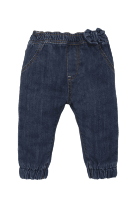 MOTHERCARE Girls Cotton Solid Jeans