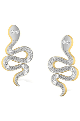 SPARKLESHis & Her Collection 92 Kt Diamond Earrings In 925 Sterling Silver Diamond HHPXT9370-92KT