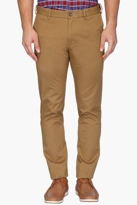 ARROW SPORT Mens 4 Pocket Solid Trousers (Chrysler Fit) - 202091624