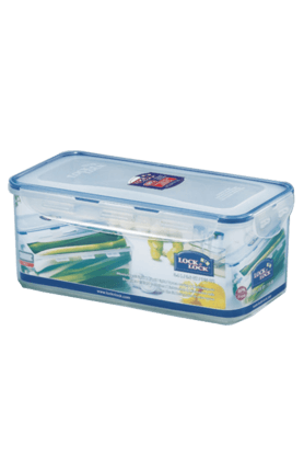 LOCK & LOCK Classics Rectangular Vegetable Container With Tray - 3.4 Litres