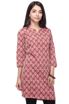 STOP Women Cotton Kurta - 9593476
