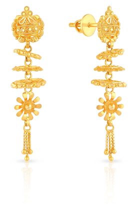 MALABAR GOLD AND DIAMONDS Womens Malabar Gold Earrings - 201593886