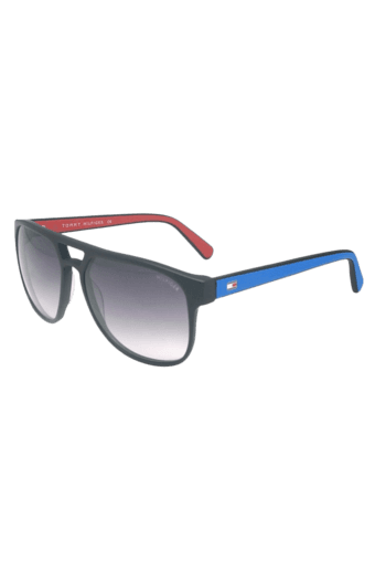 03a14ebb5dd0 Buy TOMMY HILFIGER Mens Rectangle Sunglasses 7870 C4 | Shoppers Stop