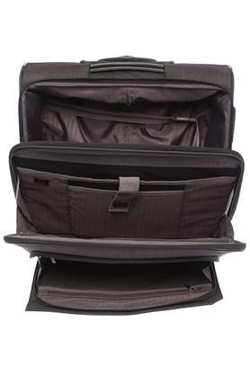 Unisex 3 Compartment Zip Closure Soft Trolley
