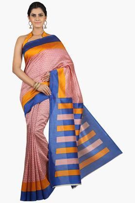 JASHNWomen Tussar Silk Printed Saree - 201860667