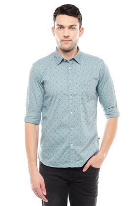 PARX - BlueCasual Shirts - Main