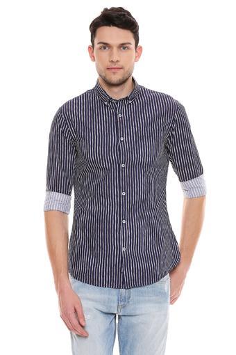 CELIO -  NavyCasual Shirts - Main