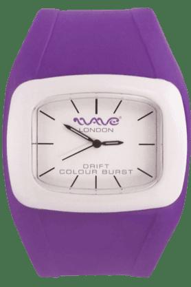 WAVE LONDONDrift Colour Burst Purple White Unisex Watch
