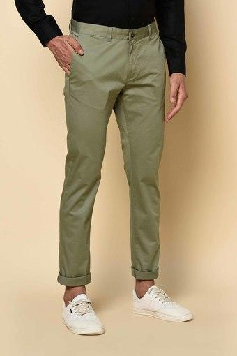 BLACKBERRYS -  OliveCasual Trousers - Main