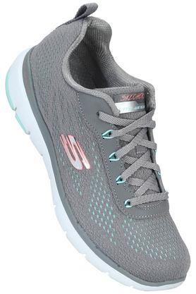 SKECHERS - Grey Sports Shoes & Sneakers - Main