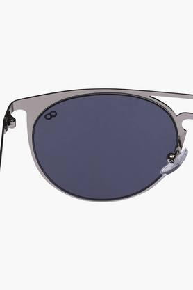 Unisex Brow Bar Polycarbonate Sunglasses VS147C1BK