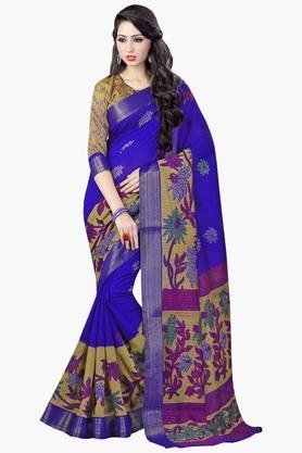 DEMARCAWomens Silk Designer Saree - 202338163