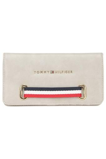 TOMMY HILFIGER -  GreyWallets & Clutches - Main