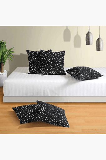 Printed Cushion Cover (Set Of 5)