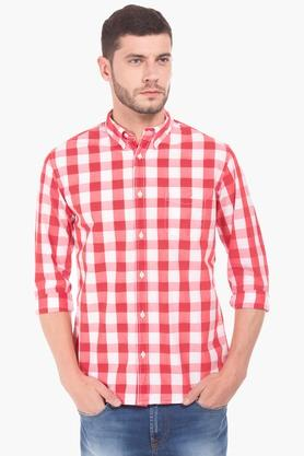 Aeropostale Formal Shirts (Men's) - Mens Regular Fit Check Shirt