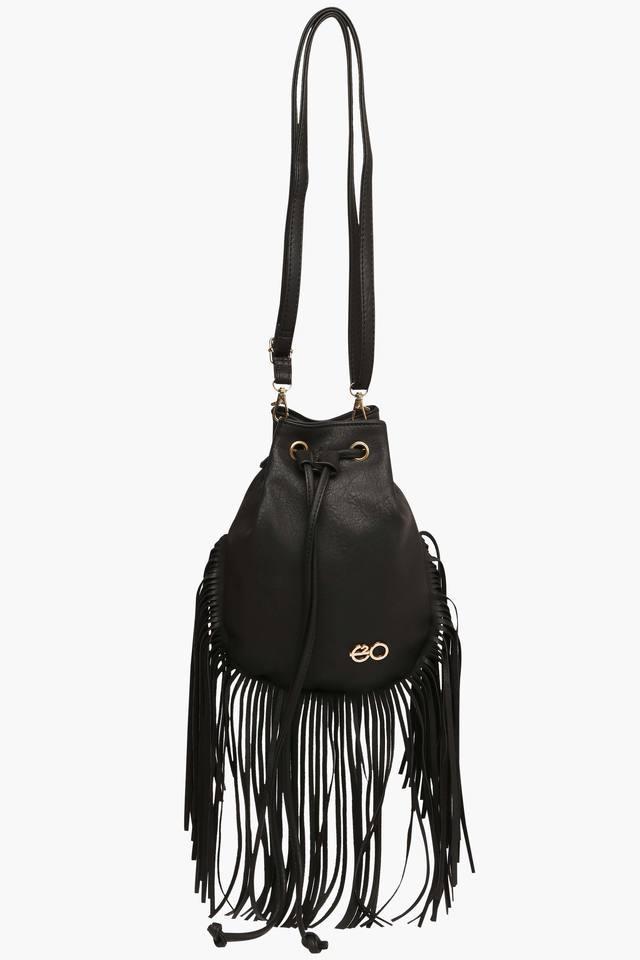 Womens Rucksack Closure Sling Bag
