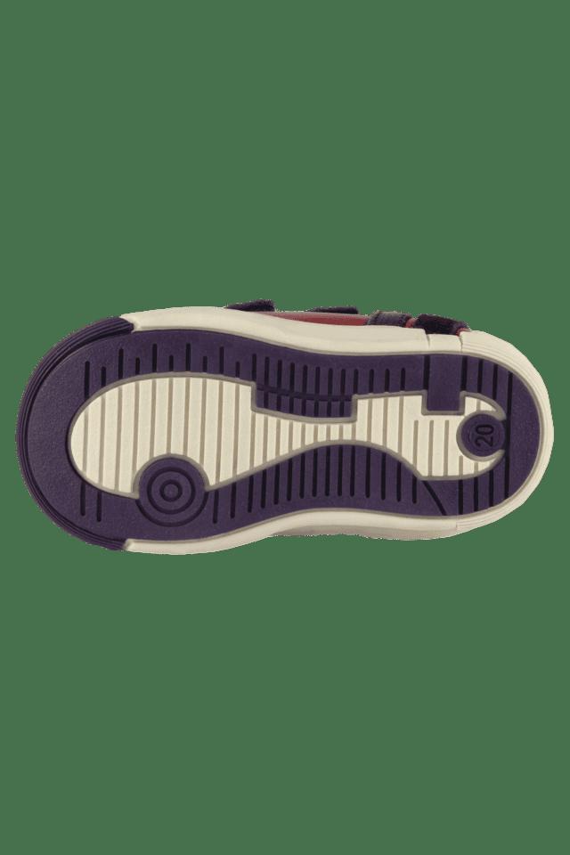 Boys Leather Velcro Closure Sneaker