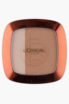 LOREALWomens Glam Bronze Powder Duo Compact