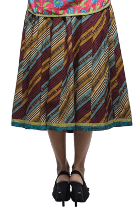 BOHEMYAN BLUE Women Cotton Kali Skirt