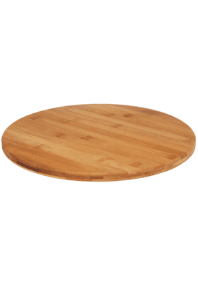 BACK TO EARTH Rotable Bamboo Lazy Susan