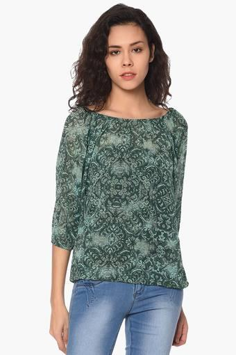 PURYS -  Green Tops & Tees - Main